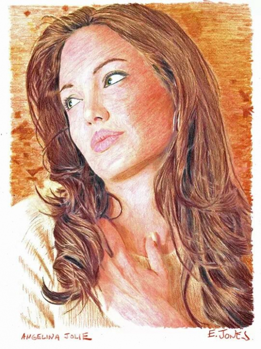 Angelina Jolie por jonese